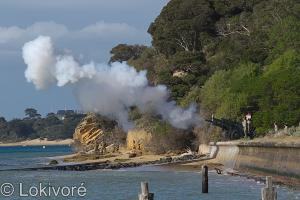 The First Shot WWI Commemorative Event: Point Nepean National Park 5th August 2014